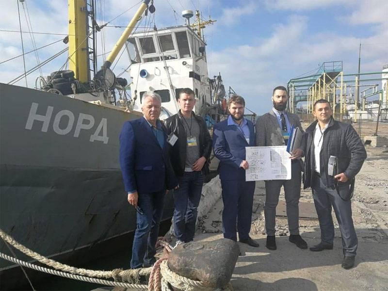 """Украина заявила об изъятии российского судна """"Норд"""". Беспредел продолжается"""