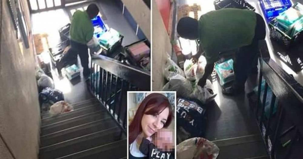 Курьер Asda отказал беременной женщине с плачущим ребенком в просьбе отнести покупки к квартире