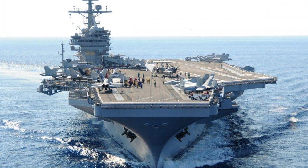 Впервые за 27 лет в воды Арктики вошел авианосец ВМС США