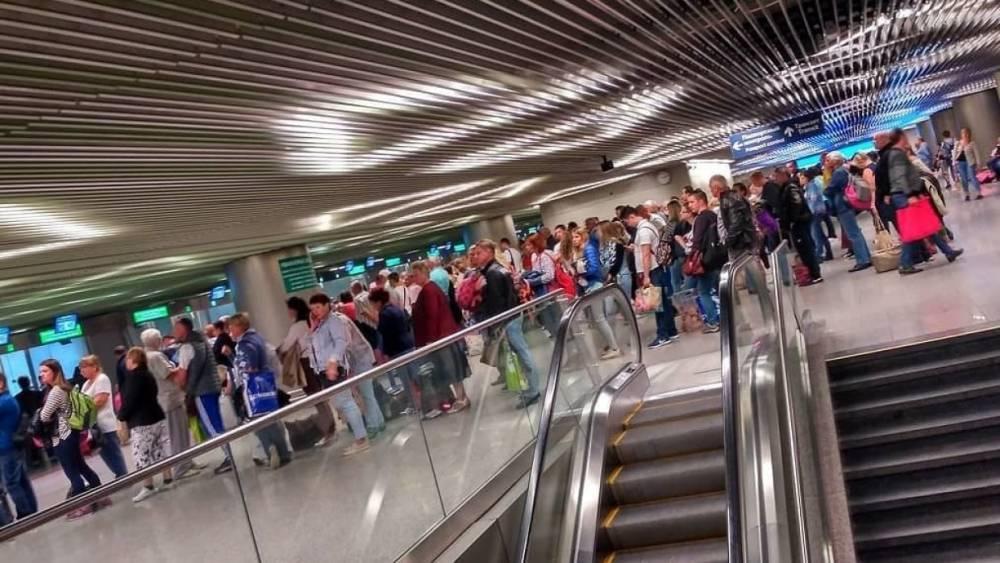 Почти 30 рейсов задержали в аэропортах Москвы