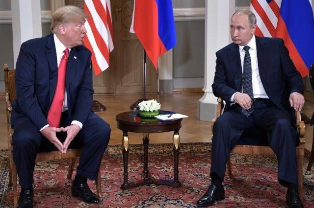 Bloomberg назвал предполагаемые места встречи Путина и Трампа