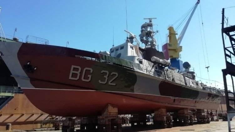 Украина усилила флот на Азове отремонтированным кораблем «Донбасс»