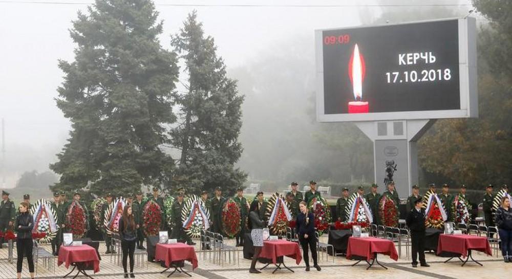 В Крыму простились с погибшими в керченском колледже