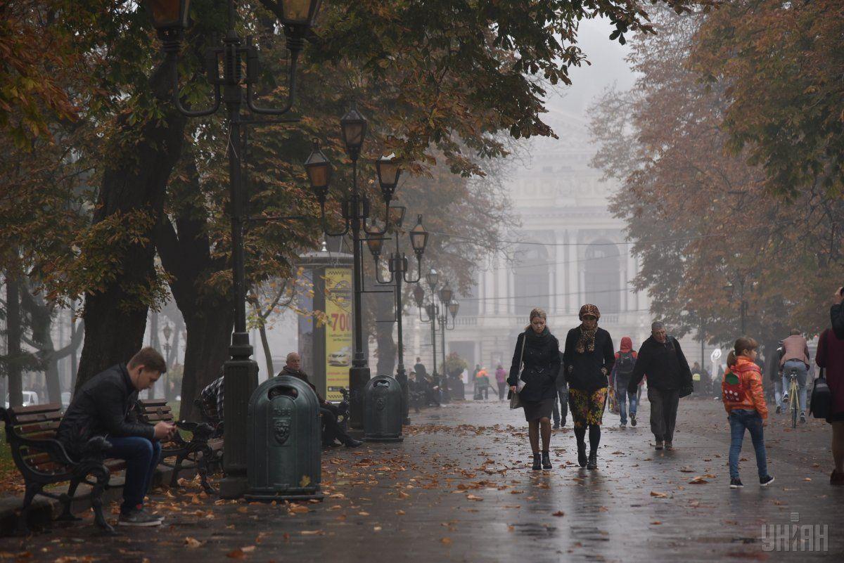 Завтра в Украине будет холодно, местами пройдут дожди