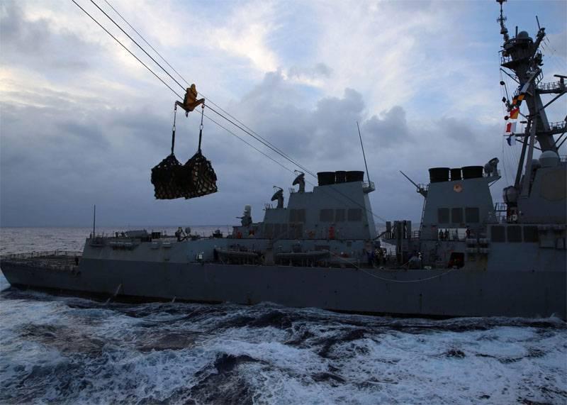 Готовятся к войне? Доклад ВМС США о морских транспортниках