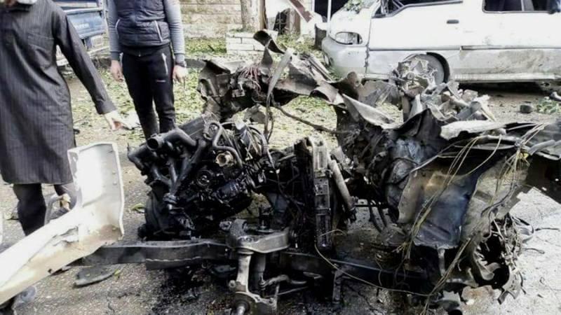 Террористический акт в Идлибе. Есть погибшие и раненые