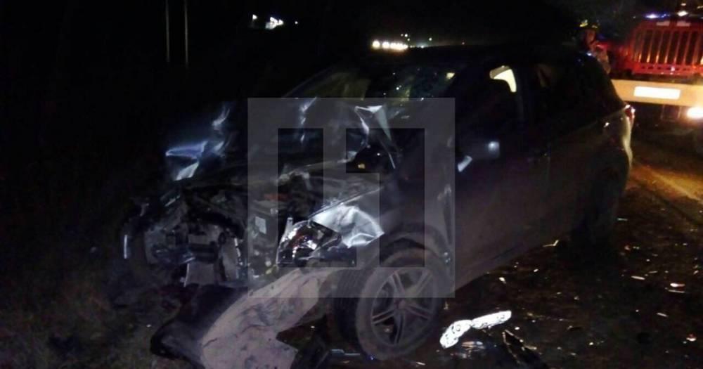 Семь человек пострадали в ДТП с участием четырёх машин в Удмуртии