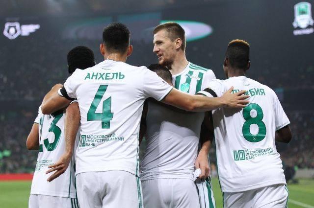 «Ахмат» выиграл матч с «Краснодаром» со счетом 1:0