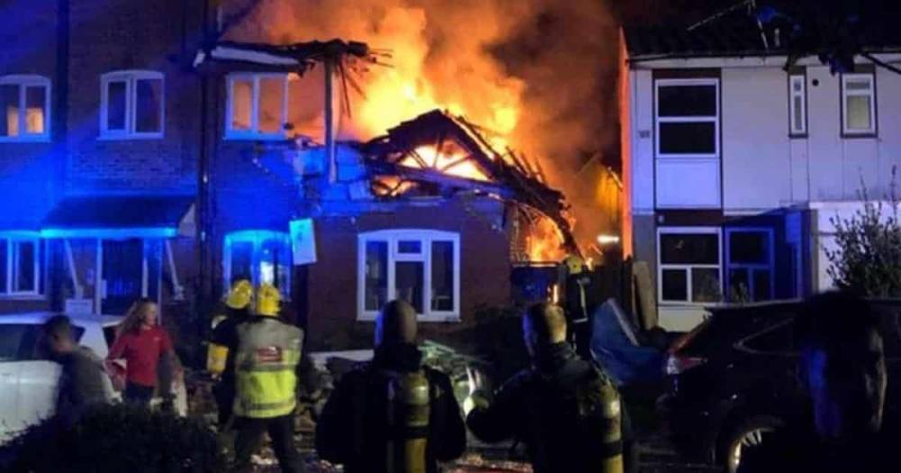 Взрыв в Харроу: при пожаре на северо-западе Лондона погибла женщина