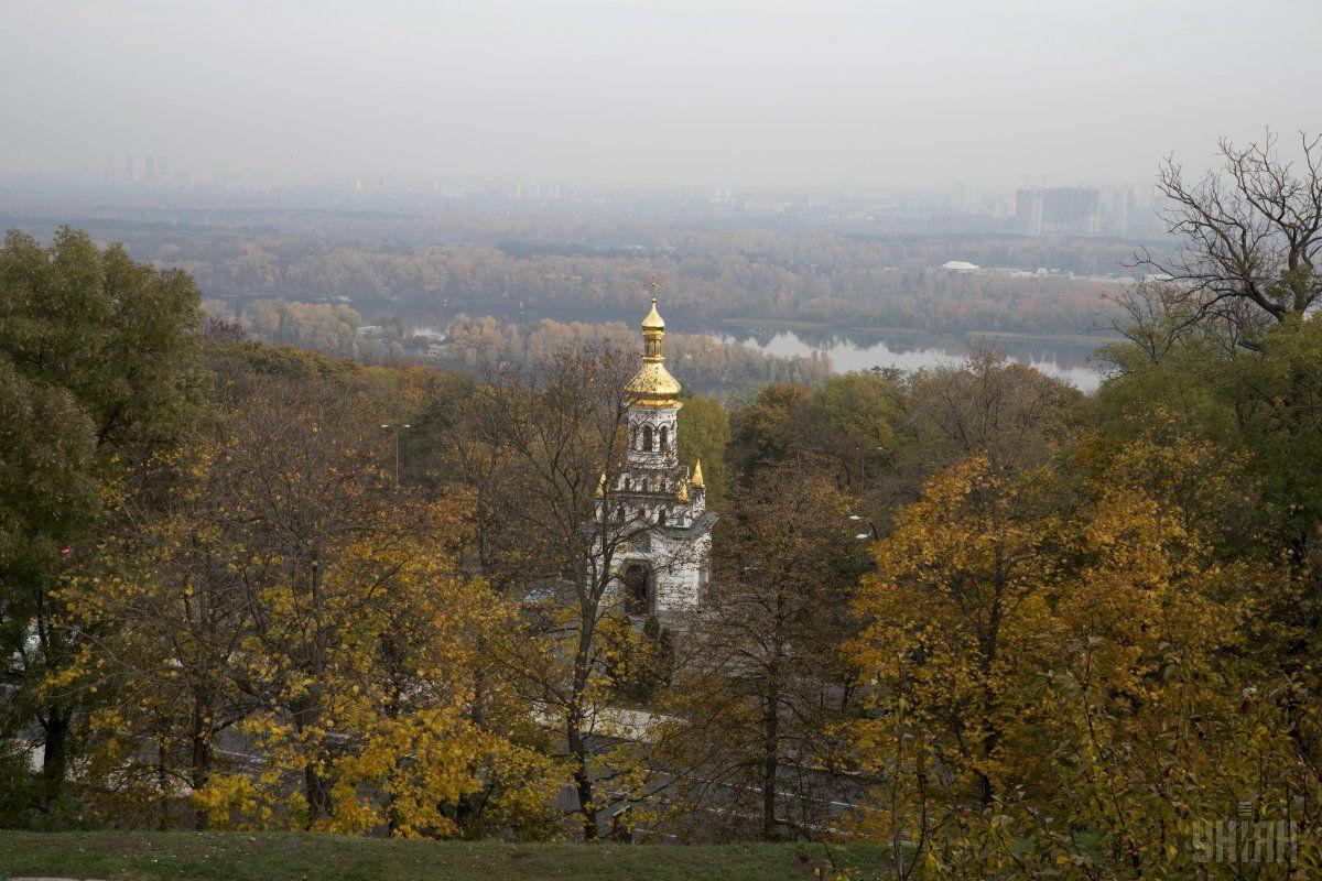 В Киеве сегодня без осадков, температура до +9°