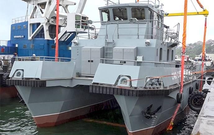 Испытания очередного модульного катера признаны успешными