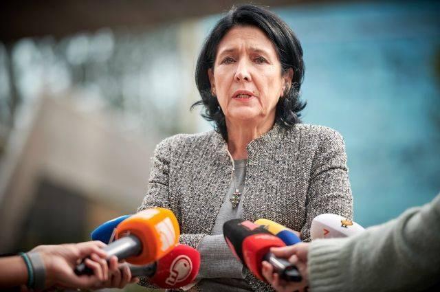 На президентских выборах в Грузии лидирует Саломе Зурабишвили