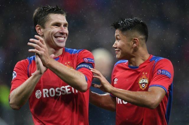 ЦСКА обыграл «Реал» со счетом 1:0 в матче Лиги чемпионов