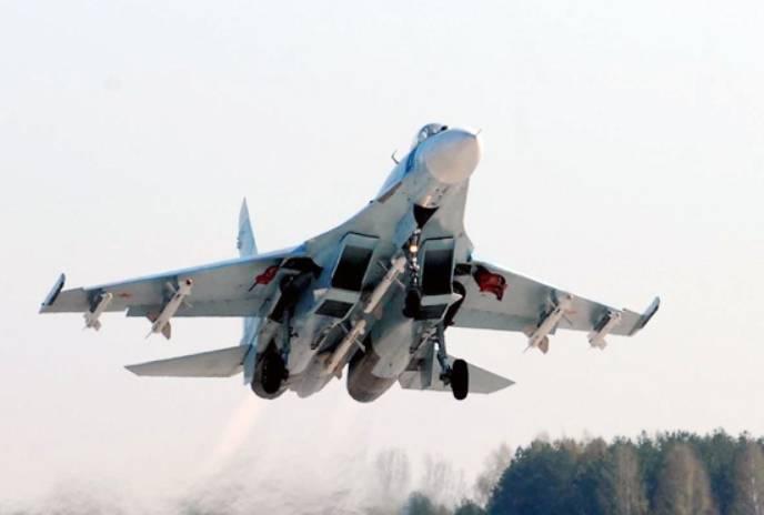 Авиационное соединение ЮВО получило модернизированные Су-27СМ3