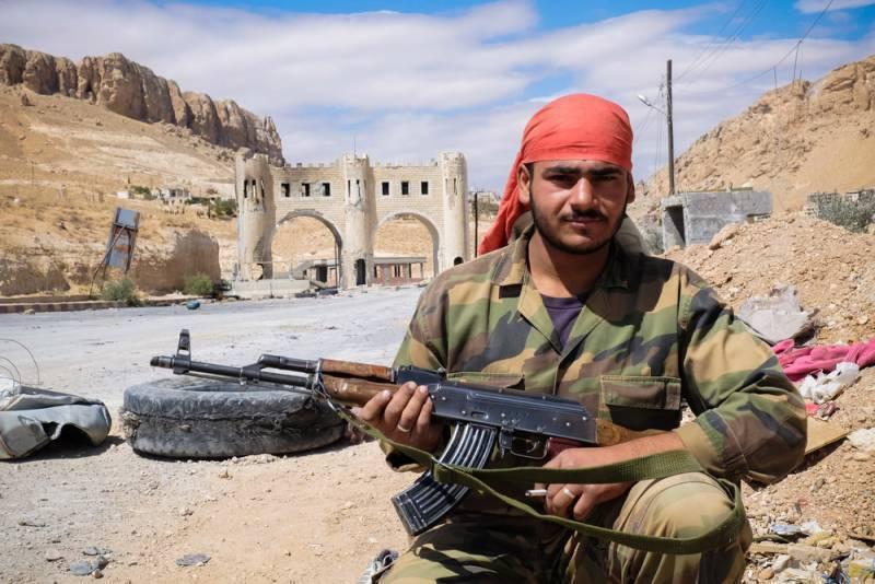 Ситуация в Сирии. САА отбила атаку боевиков в Хаме