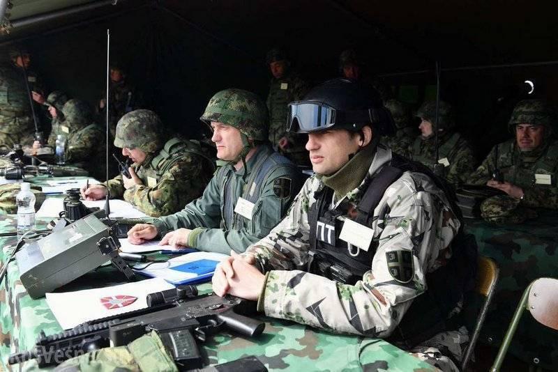 В Сербии начались крупнейшие в истории страны военные учения: фото и иллюстрации