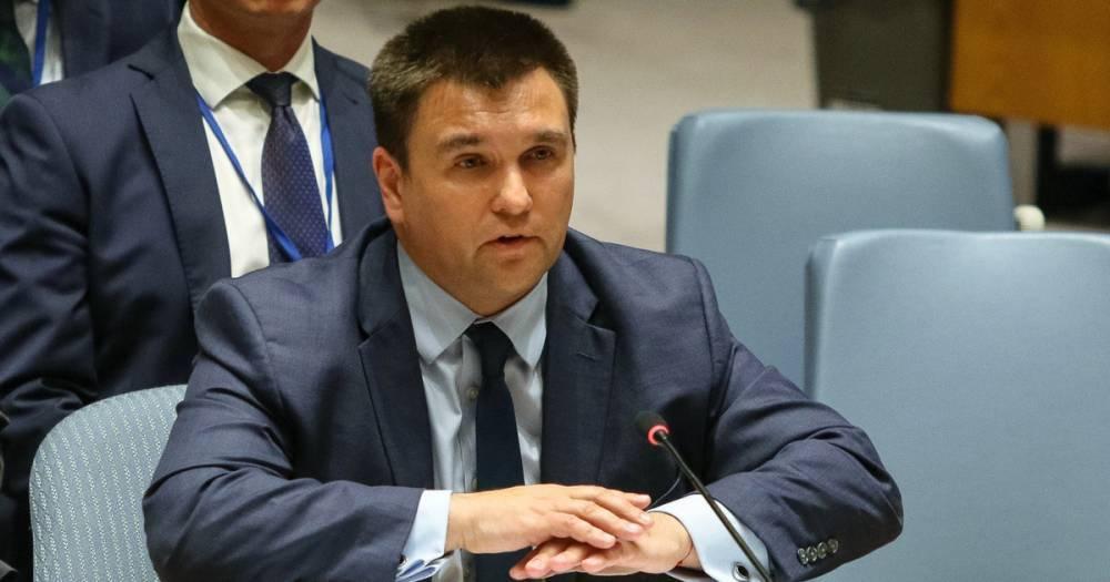 Климкин пригрозил усилить санкции против России из-за выборов в Донбассе