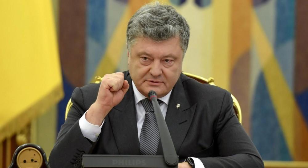 """Порошенко призвал жителей Донбасса не идти на организованные оккупантами так называемые """"выборы"""""""