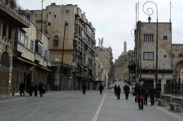 ЦПВС зафиксировал четыре обстрела пригородов Алеппо