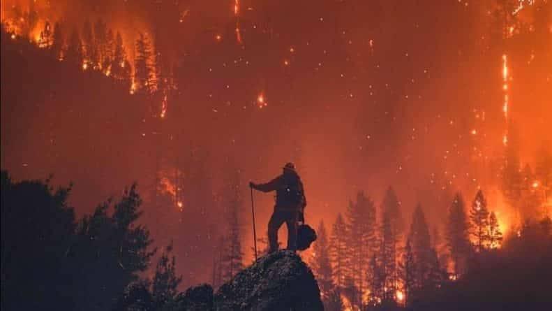 В огне пожаров Калифорнии погибло уже 25 человек