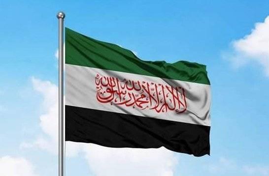 Так называемая сирийская оппозиция убрала красные звёзды со своего флага