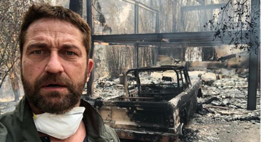 Дом известного голливудского актера превратился в пепелище после пожаров в Калифорнии