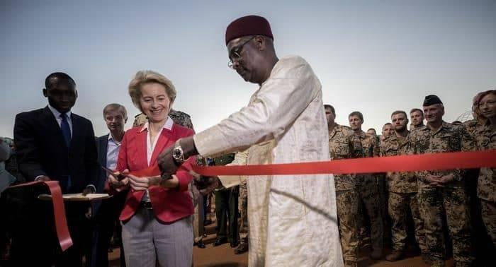 Германия открыла военную базу в Нигере