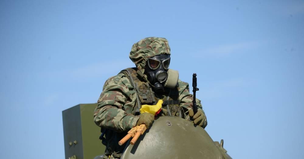 Российские войска РХБЗ отмечают столетний юбилей