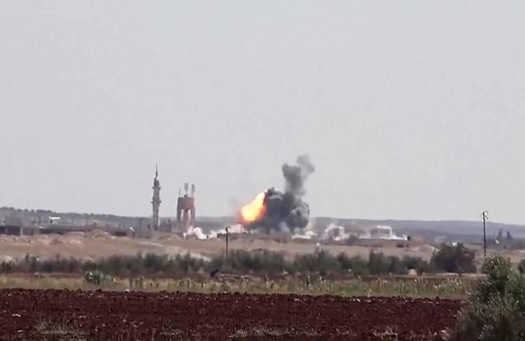 Очередной налёт коалиции: в Дейр-эз-Зоре убиты и ранены десятки человек