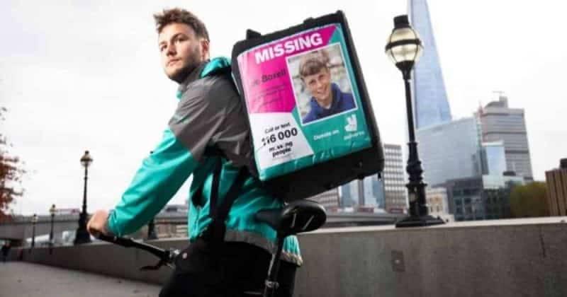Водители Deliveroo будут помогать в поиске пропавших без вести британцев