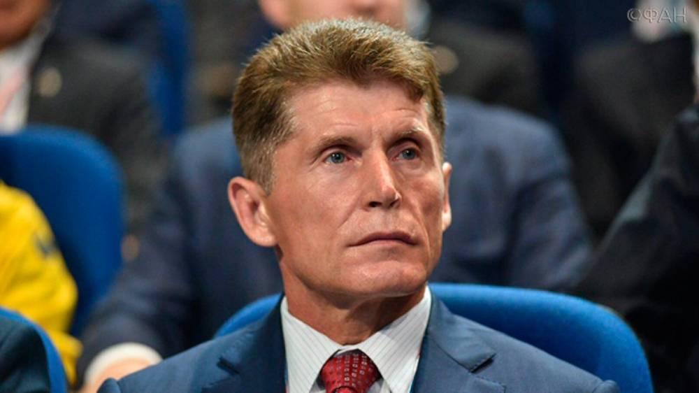 Кожемяко сдал документы на регистрацию кандидатом на выборах губернатора в Приморье