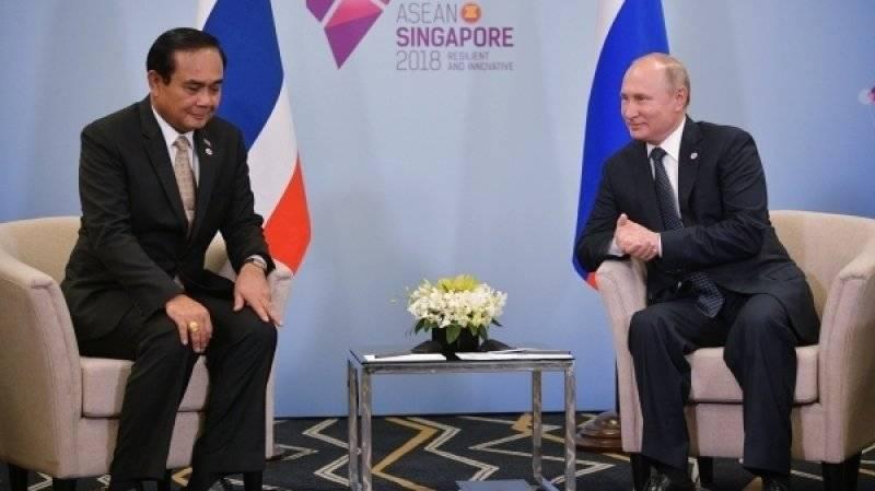 Путин рассказал, сколько денег российские туристы вложили в экономику Таиланда