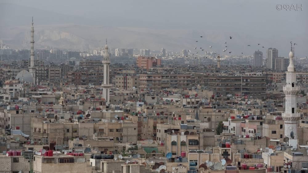 Сирия во время войны обеспечила себя всеми видами товаров