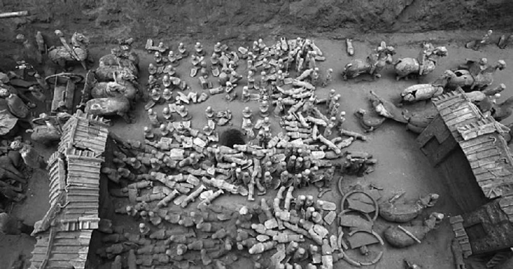 В Китае археологи обнаружили мини-версию Терракотовой армии