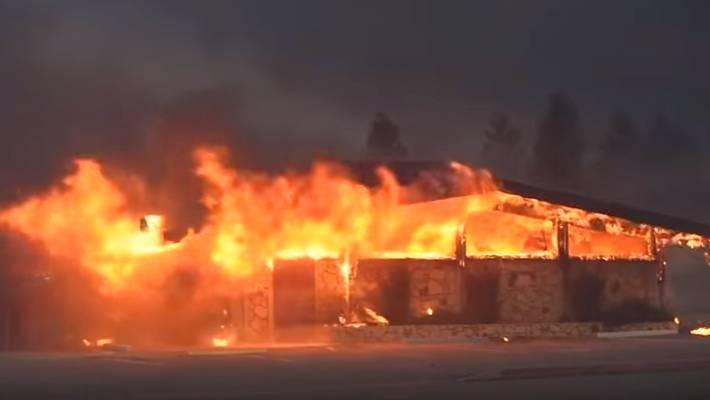 Жертвами лесных пожаров в Калифорнии стали уже 50 человек