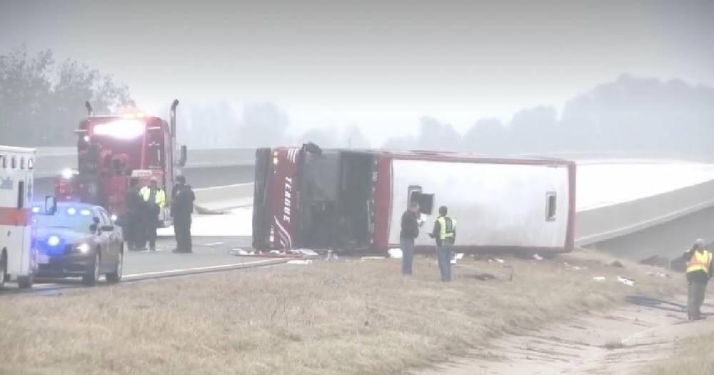 В США в ДТП с автобусом пострадало 44 человека