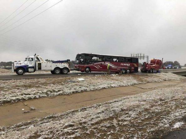 К югу от Мемфиса разбился туристический автобус: 44 пострадавших, 2 человека погибли