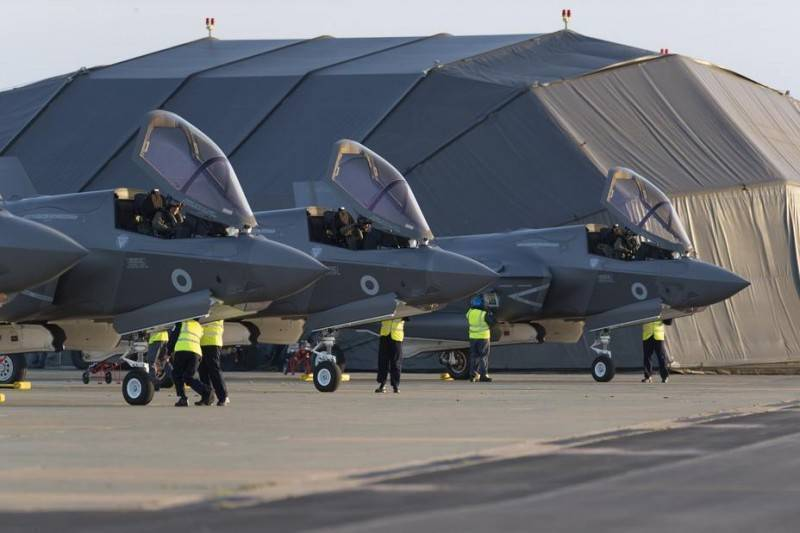 Британское Минобороны заказало еще 17 истребителей F-35В Lightning II