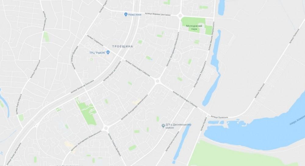 Киевсовет переименовал улицу Сабурова на Троещине и несколько других