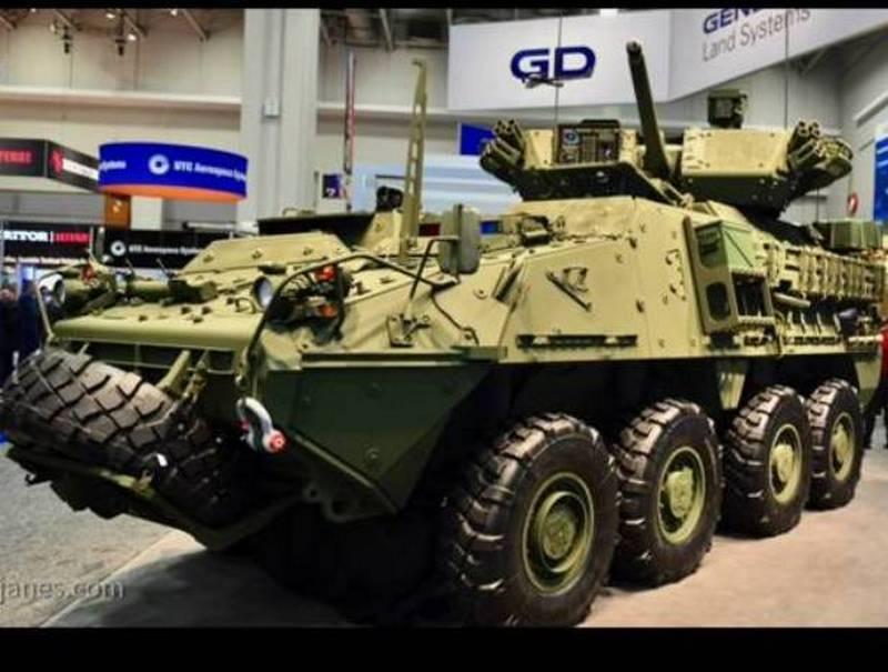 """Американская армия вооружится модернизированным """"Страйкером"""""""