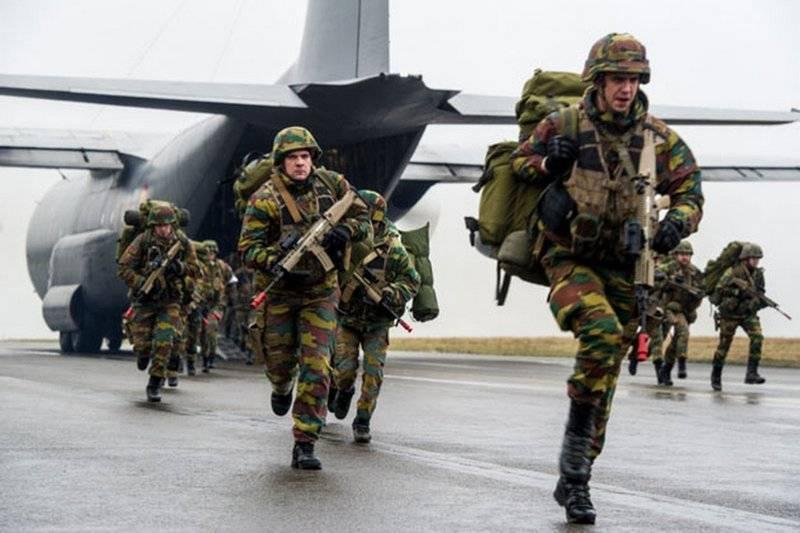 """НАТО усилит """"восточный фланг"""" альянса с помощью Бельгии"""