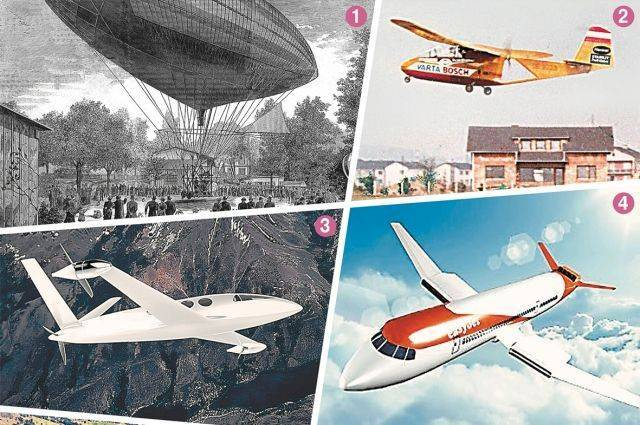 Когда будем летать на электросамолётах?