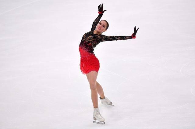 Российская фигуристка Загитова победила на этапе Гран-при в Москве