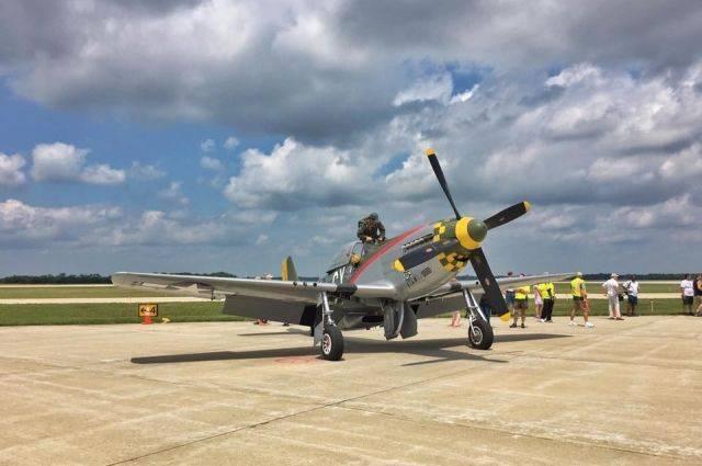 В США потерпел крушение самолет времен Второй мировой войны