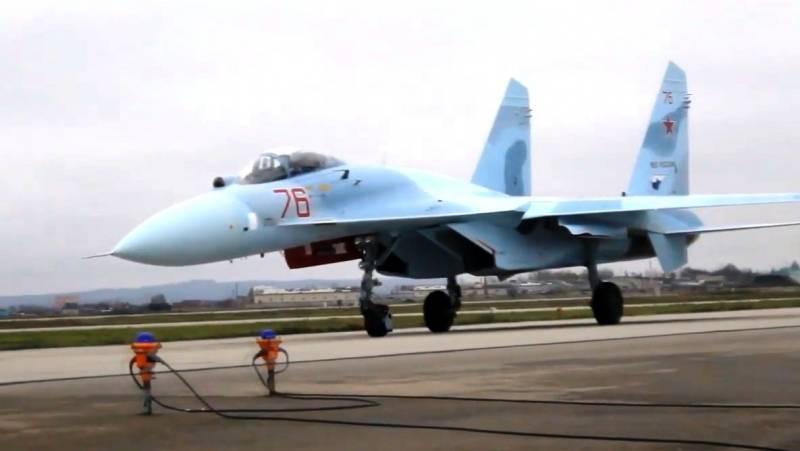 Авиаполк ЮВО пополнился модернизированными Су-27СМ3