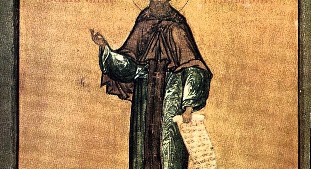 20 ноября Православная Церковь вспоминает обретение мощей преподобного Кирилла Новоезерского