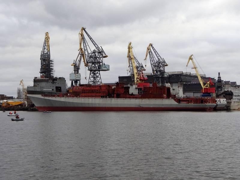 """Недостроенные фрегаты проекта 11356 используют в """"индийском"""" контракте"""