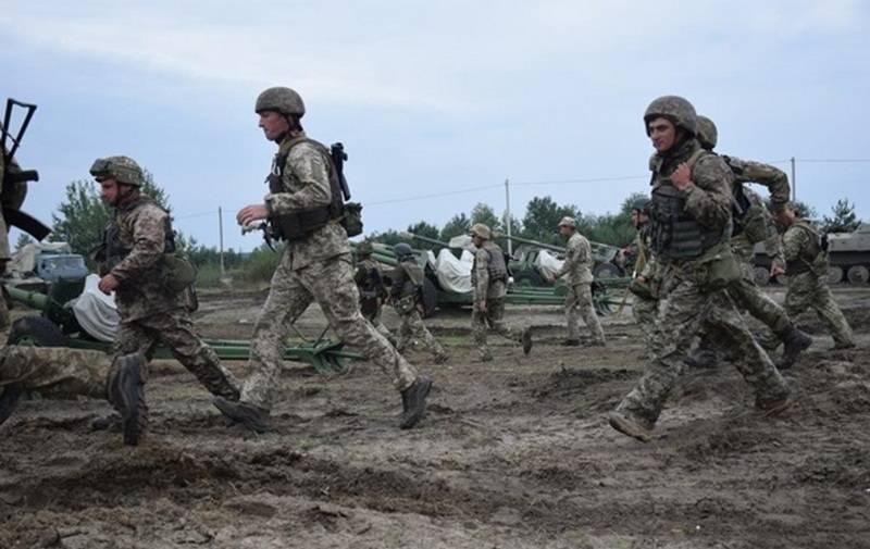 В результате взрыва на украинском полигоне ранен военнослужащий ВСУ