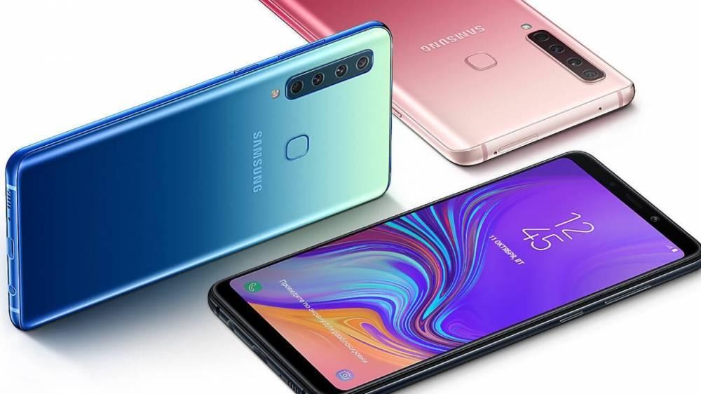Новый смартфон от Samsung будет иметь сразу шесть камер