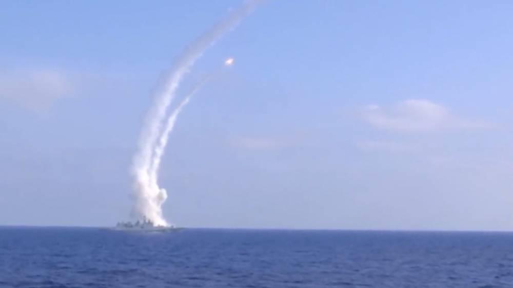 Сирия: самолет США вел разведку у берегов САР во время учений ВМФ РФ